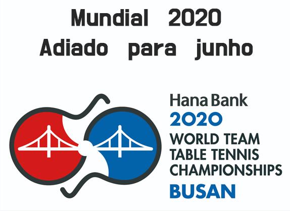 Mundial 2020 - adiado junho 2